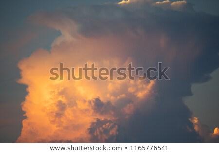 Chmura · pioruna · duży · Błękitne · niebo · niebo · niebieski - zdjęcia stock © kuzeytac