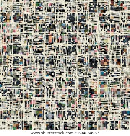 Wielobarwny sieci matrycy streszczenie wzór projektu Zdjęcia stock © latent
