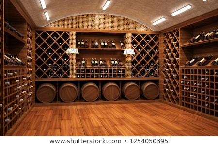 Wine Cellar Room Stock photo © samsem