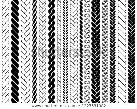 tığ · işi · yapı · doku · sepet - stok fotoğraf © sarkao