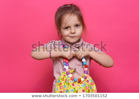 portrait of a little girl in construction clothes Stock photo © photography33