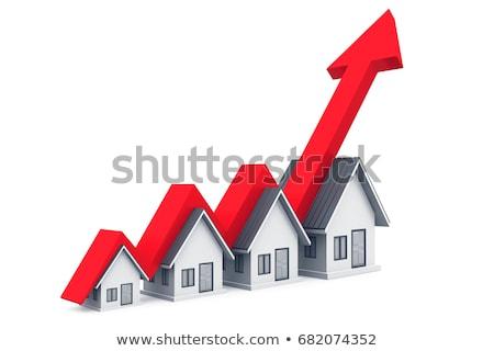 eladó · hanyatlás · szimbólum · csoport · vásárlás · kék - stock fotó © 4designersart