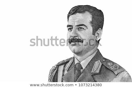 Iraque gravado retrato velho papel Foto stock © Snapshot