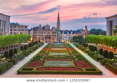 Mont des Arts in Brussels. Stock photo © chrisdorney