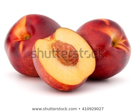 Három csetepaté izolált fehér gyümölcs narancs Stock fotó © zhekos