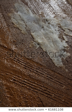 país · camino · de · tierra · textura · detalle · superior · vista - foto stock © lunamarina