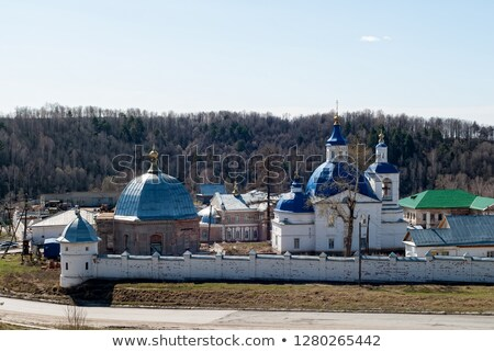 john predtechis church tobolsk district russia stock photo © aikon