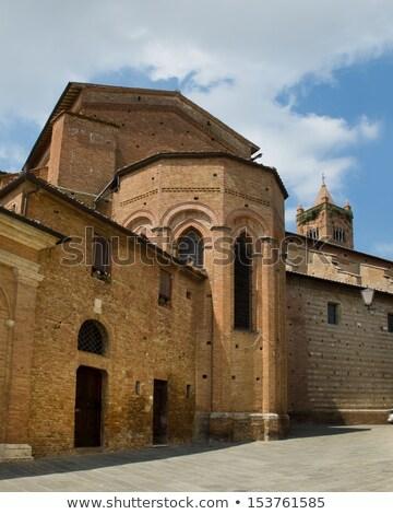 Apse of Basilica dei Servi. Siena, Italy Stock photo © Photooiasson