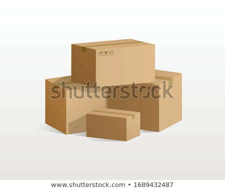 blanche · carton · rectangle · vecteur · vide · cases - photo stock © konturvid