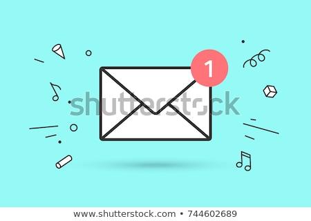 スパム 赤 マーカー 手 書く 透明な ストックフォト © ivelin