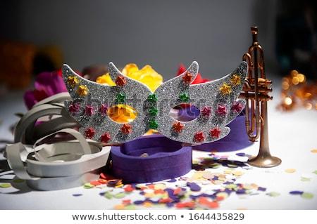 Carnaval mulher alegoria silhueta gracioso dançarina Foto stock © HouseBrasil