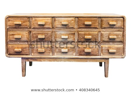 ancient isolated cabinet stock photo © taviphoto