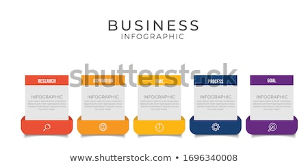 opties · sjabloon · vector · ontwerp · retro · patroon - stockfoto © vectorpro
