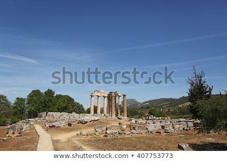 Ancient Temple of Zeus in the Nemea Stock photo © ankarb