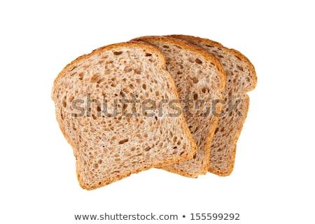 小麦 パン 木板 表 白 ストックフォト © tepic