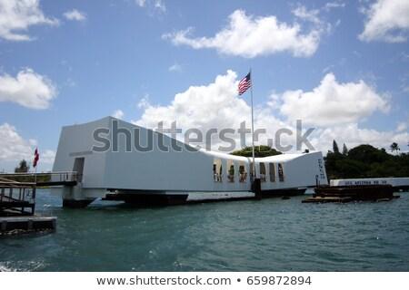 U.S.S. Arizona sunk at Pearl Harbor Stock photo © kraskoff