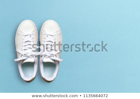 Stock photo: Collge of colorful rubber boots