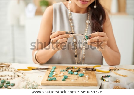 jewelry making Stock photo © Sarkao