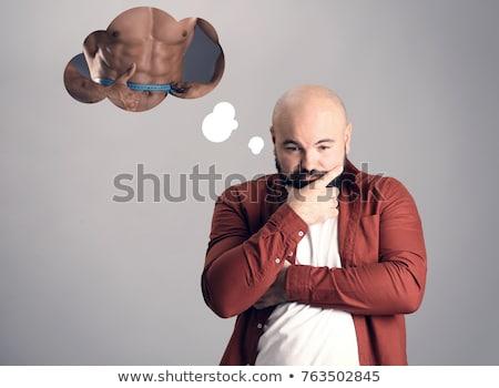 мускулистое тело человека тело гол Сток-фото © tommyandone
