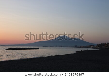 Vesuvius Looming Stock photo © blamb