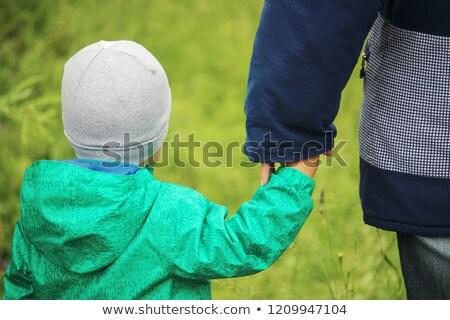 Toddler walking in park Stock photo © BigKnell