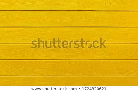 Yellow Colored Wooden Boards  Stock photo © Melpomene