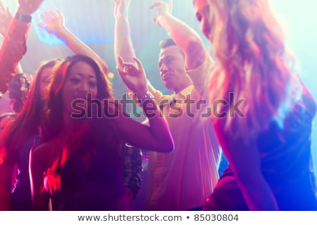 Asian meisjes feesten dansvloer disco discotheek Stockfoto © Kzenon