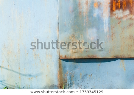 enferrujado · textura · pintar · velho · abstrato - foto stock © sirylok