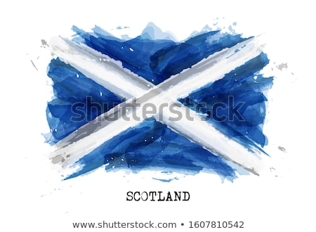 Grunge Scottish flag Stock photo © tintin75