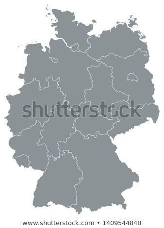 Heráldica Alemania mapa blanco mundo fondo Foto stock © mayboro1964