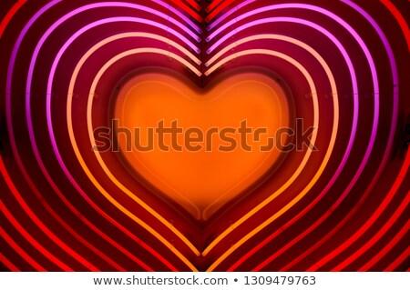 свет · вверх · сердце · любви · Валентин · свечу - Сток-фото © user_8545756