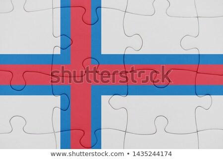 ストックフォト: ヨーロッパの · 組合 · 島々 · フラグ · パズル · ベクトル