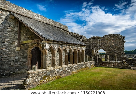 аббатство Шотландии руин средневековых Бога религии Сток-фото © photopb
