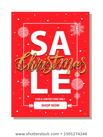 Sale Now On Represents At This Time And Cheap Stock photo © stuartmiles