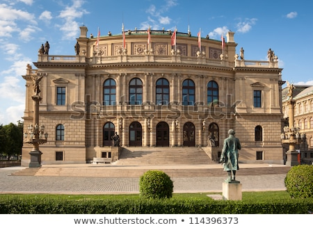 rudolfinum concert hall in prague stock photo © capturelight