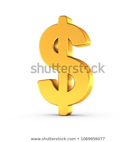 arany · valuta · szimbólum · vágási · körvonal · szimbólumok · izolált - stock fotó © creisinger