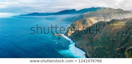 マデイラ 海岸線 海 岩 海 ストックフォト © compuinfoto