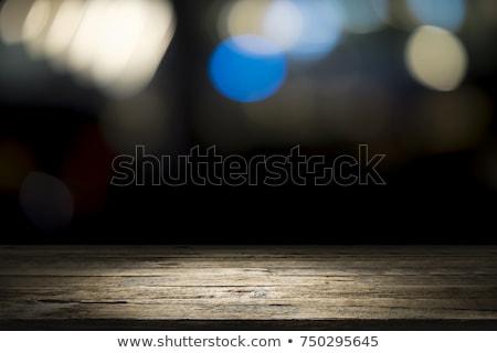 расслабиться деревянный стол слово служба ребенка образование Сток-фото © fuzzbones0
