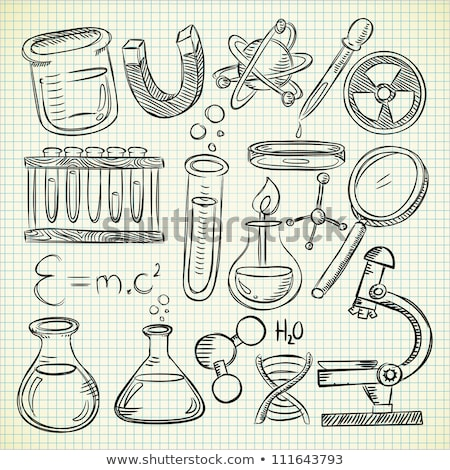 A simple sketch of science Stock photo © bluering