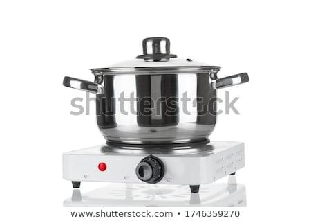 Metallic Pot Stock photo © ca2hill