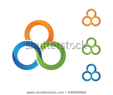 criador · abstrato · vetor · design · de · logotipo · modelo · fundo - foto stock © ggs
