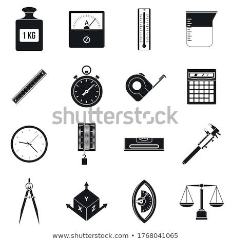 инструментом · икона · строительство · знак · силуэта - Сток-фото © sdCrea