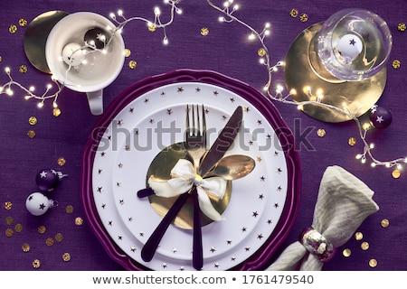 deep purple plate Stock photo © Digifoodstock