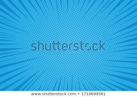 Vector background with blue color splash. Retro style design for poster or cover Stock photo © fresh_5265954