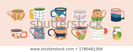 ceramic dish with handle Stock photo © Digifoodstock