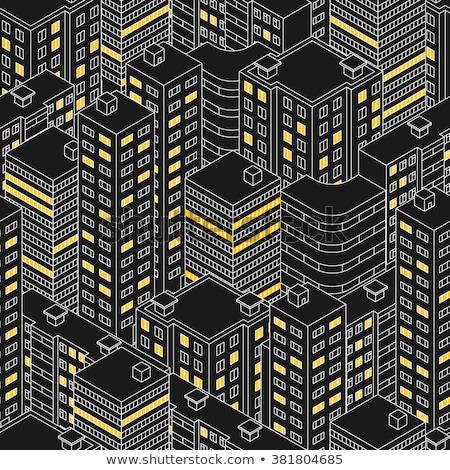 Foto d'archivio: Costruzione · facciata · pattern · Windows · mattone