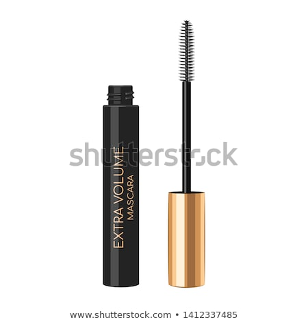 Mascara container for eyelashes with brush ストックフォト © DenisMArt