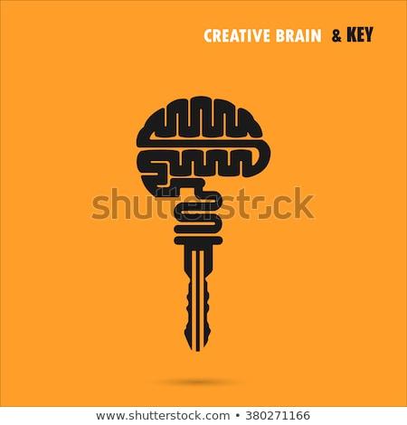 Stockfoto: Onderwijs · sleutel · succes · symbool · school · leren
