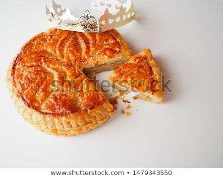 epiphany cake,galette des rois Stock photo © M-studio