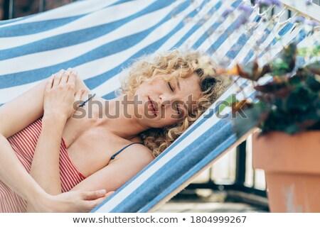feliz · verão · sol · natureza · projeto · arte - foto stock © clairev